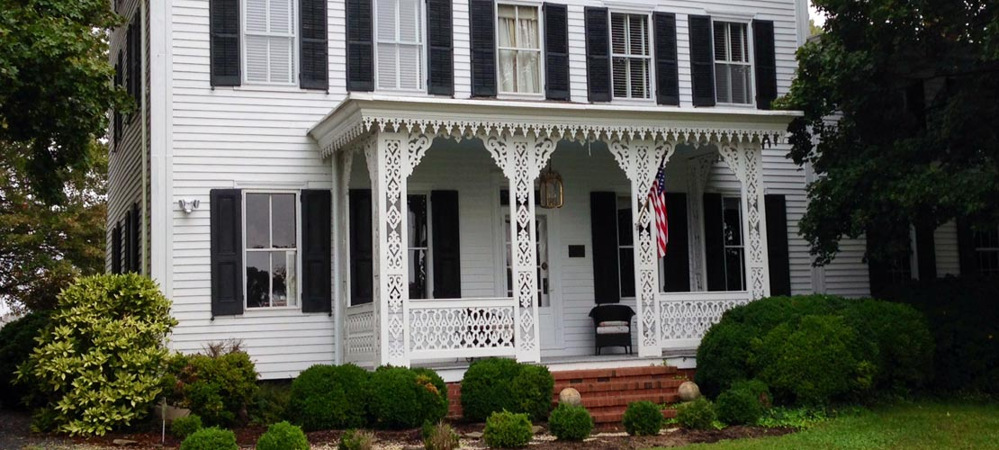 We clean windows at homes on the National Registry of Historic Places