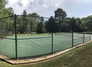 tennis after